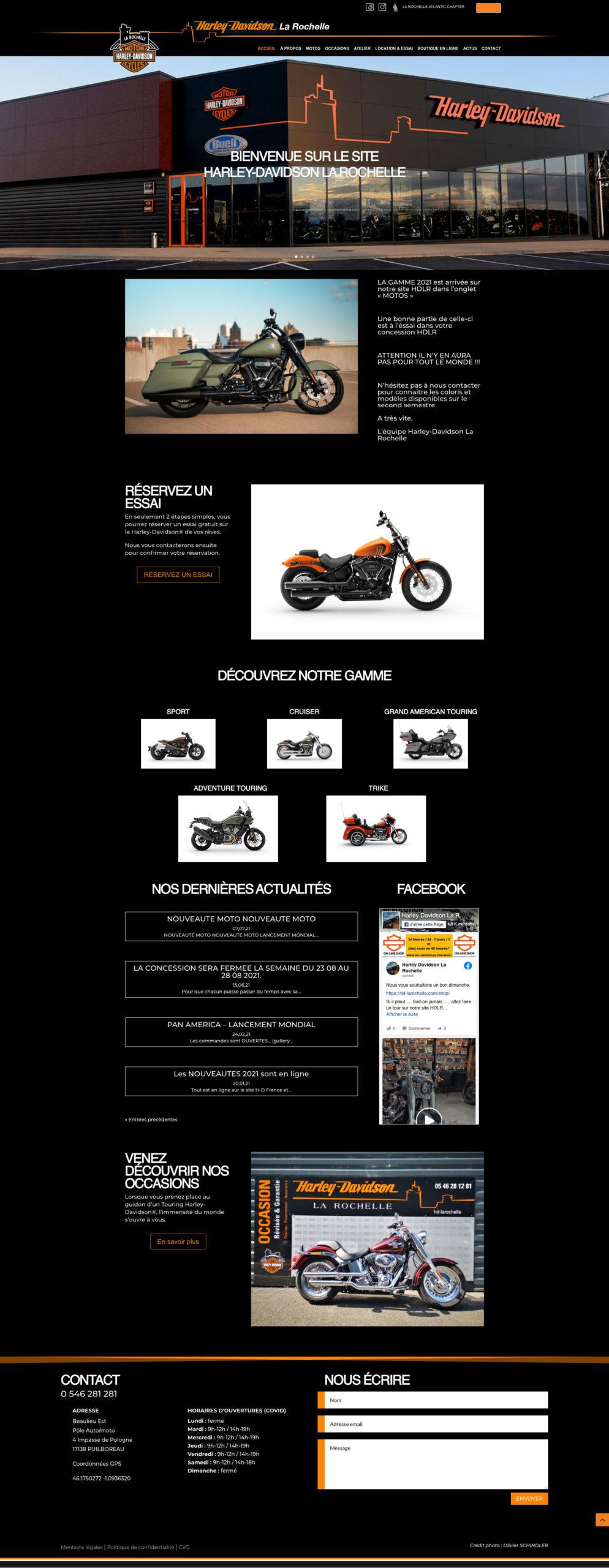 Harley Davidson La Rochelle