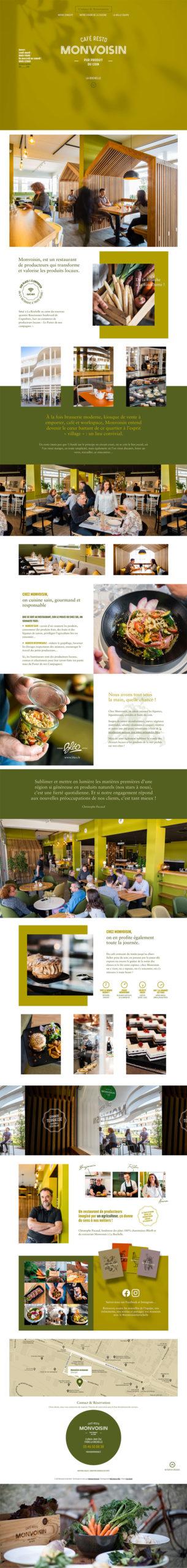 Café Restaurant Monvoisin